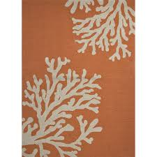 Jaipur Outdoor Rugs Jaipur Rugs Grant Bough Out 8 X 8 Indoor Outdoor Rug Orange
