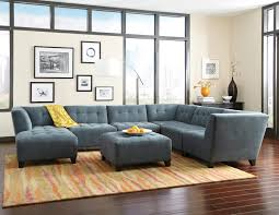 Sears Furniture Kitchener Jonathan Louis Belaire Contemporary Sectional Stoney Creek