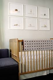 white and gray crib bedding transitional nursery ae design