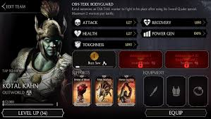 Challenge Fatality Lord Kotal Kahn Challenge Mortal Kombat X Mobile Mortal