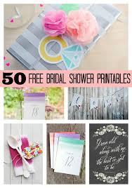 free bridal shower 50 free bridal shower printables pretty my party