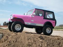 jeep pink my 1977 jeep cj7 nice jeep daughter would love it lol