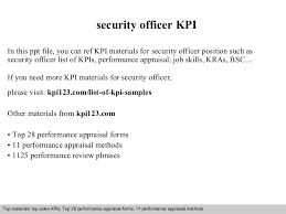 Kpi Reports Sle by Resume Cv Cover Letter Large Size Of Curriculum Vitaesecurity