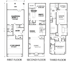 luxury floorplans luxury townhome floor plans