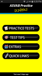 amazon com asvab practice for dummies appstore for android