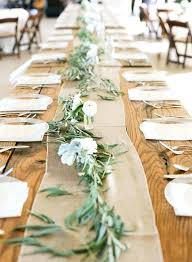 diy table runner ideas country rustic burlap wedding table runner decoration ideas table
