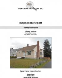 sample house inspection report sample home inspection reports