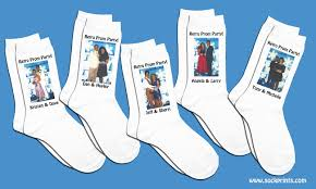 personalized socks the happy sole party favors