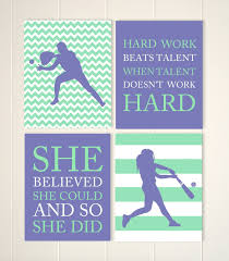 softball bedroom ideas popular items for girls room poster on etsy softball wall art