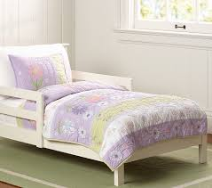 Girls Quilted Bedding by Daisy Garden Toddler Quilt Pottery Barn Kids