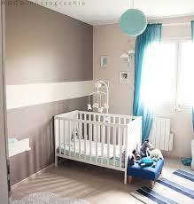 chambre enfant taupe bacbac bleue et idee deco bebe vert anis