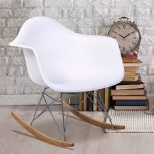 Maternity Rocking Chair Eames Rar Style Mid Century Modern Molded Plastic Rocking Rocker