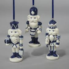 club pack of 12 blue china nutcracker ornaments 4