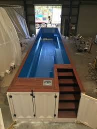 shipping container pools pool ideas back yard oasis pool in a box