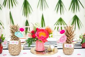 tropical wedding theme knot pop wedding planners