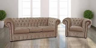 fabric chesterfield sofa buy velvet fabric chesterfield sofa armchair suite