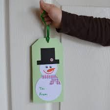 east coast mommy ecm kids u0027 craft club 9 snowman gift tag