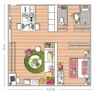 Decorating Small Spaces Blending Colorful Home Accessories and ...