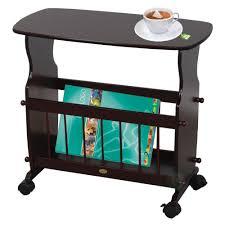 End Table Lamp Combo Table Personable Auston Magazine Storage Table Amish End Rack U37