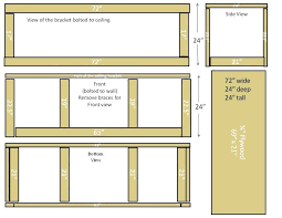 Free Wooden Garage Shelf Plans by Bathroom Pleasant How Build Garage Storage Shelves Plans