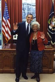 president obama in the oval office president obama and star trek u0027s nichelle nichols flashing vulcan