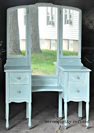 Vanity And Mirror Serendipity Refined Blog Help With Your Diy 4 Chalk Painted