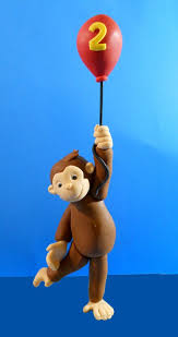curious george cake topper curious george balloon cake topper curious george cakes and