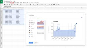 Graph Spreadsheet Carriots Internet Of Things Platform Tutorials Others Apis
