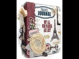 travel photo album scrapbook mini album with theresa collins travel documented paper