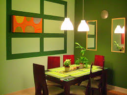 how to create a comfort impression in the small dining room