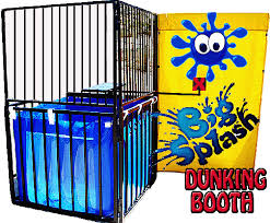 dunking booth rentals columbus seymour indiana bounce house water slide rental