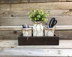 office decor new job gift rustic office desk accessories