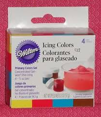 edible gel primary color edible gel food coloring icing colors wilton 4 5