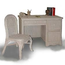 Rattan Desk Chair Wicker Desks Wicker Office Furniture