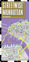New York City Street Map by Streetwise Manhattan Map Laminated City Street Map Of Manhattan