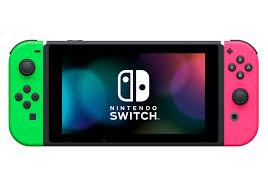 nintendo switch gaming console with your choice of game and