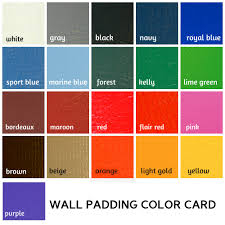 Colors For Walls Easy Stick Wall Pads 5 U0027 Tall X 2 U0027 Wide Ak Athletic Equipment