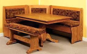 corner breakfast nook table set corner breakfast nook table set corner bench kitchen table set a
