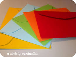 how to make your own envelope a christy production my creative space make your own envelope