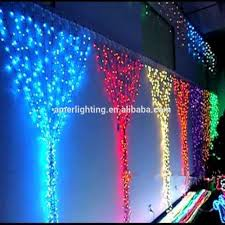 colorful waterfall led curtain light for stage wedding decoration