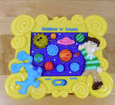 2000 blues clues skidoo u0027n learn electronic planets solar system