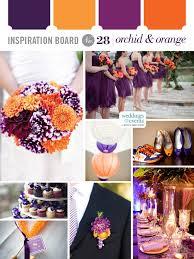 purple and orange wedding ideas inspiration board 28 orchid u0026 orange wedding ideas