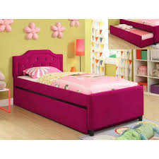 crown mark kids beds amelia 5019 twin bed with trundle trundle