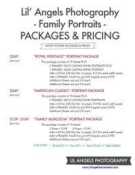 photographer prices family portrait prices photography price list sears london