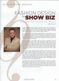 edward walker trading spaces professional spotlight fashion design to show biz jennie knapp