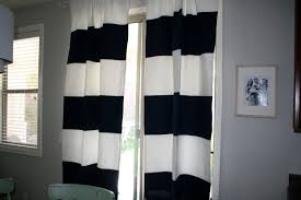 black n white curtains black white splicing striped blackout