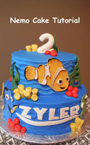 41 best nemo birthday images on pinterest finding nemo cake