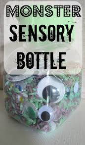 halloween activities for toddlers sensory bottle