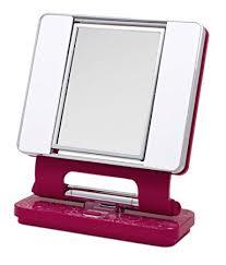 amazon ott lite natural daylight makeup mirror purple chrome 26 watt personal makeup mirrors beauty