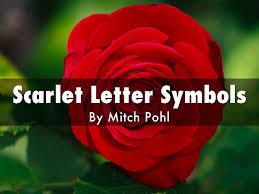 scarlet letter symbols by mitch pohl